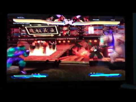 Street Fighter x Tekken RANKED Match # 11 Cross Rush(es) ONLY!!