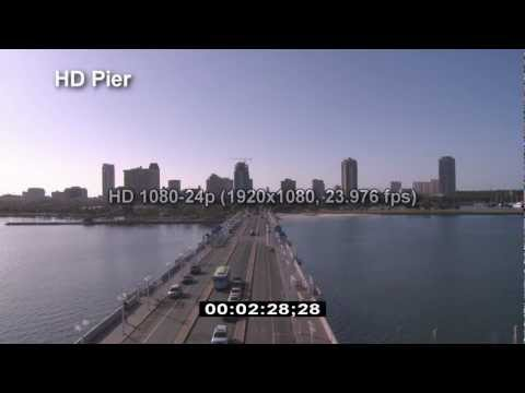 St. Petersburg Pier - HD Pier - Fishing Pier - HD Stock Footage - Best Shot Stock Footage