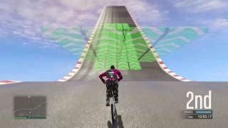 GTA 5 (Gliding tutorial) Bmx and Batti