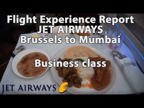 Trip Report : Jet Airways | Brussels to Mumbai | 9W227 | A330 | Business class | BRU - BOM