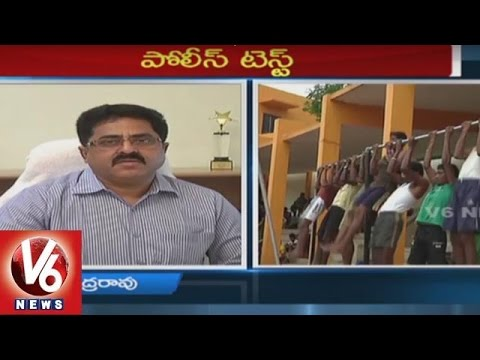 ADG Poornachandra Rao on SI & Constable Recruitment | Special Interview | V6 News