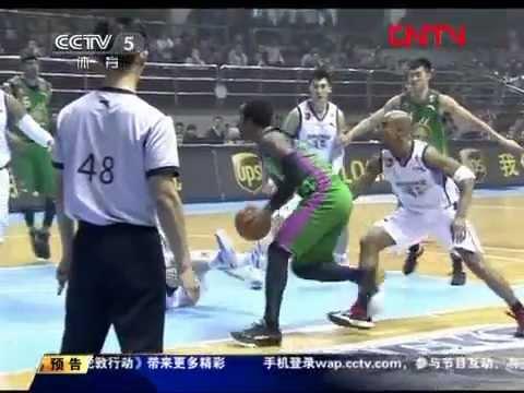 Stephon Marbury vs JR Smith Ankle Breaker CBA [1.18.12] Beijing vs Zhejiang Chouzhou 102:93