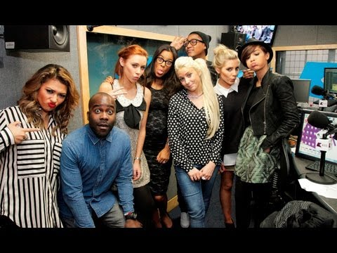 The Saturdays interview at KISS FM (UK) Part 1