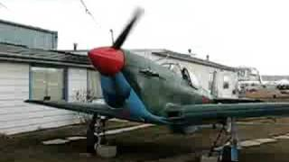 Yak-1 engine start-up, or, 'Butch makes some noise'