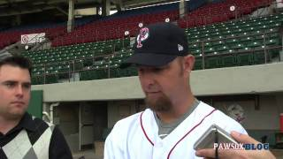 Alan Embree- PawSox Media Day