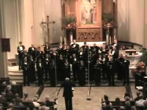 Lancaster Chorale performs Perfect Love by Patrick Hawes