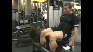 Dorian Yates Leg Extension