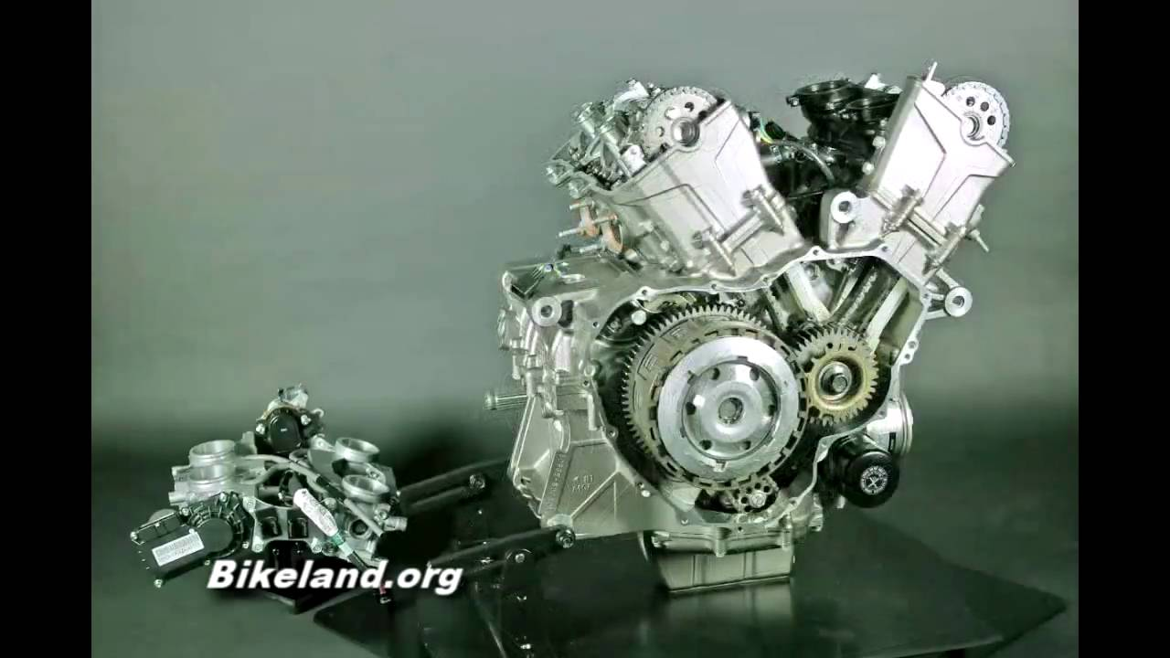 A look inside the VFR1200 Engine... - YouTube