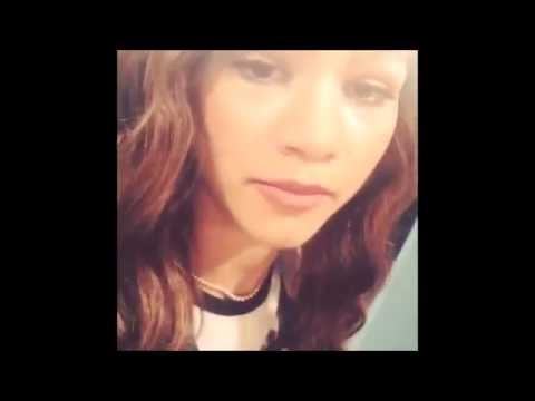 Zendaya Coleman singing + instagram videos 2015
