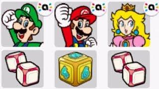 Mario Party: Star Rush - Toad Scramble amiibo Walkthrough - World 0