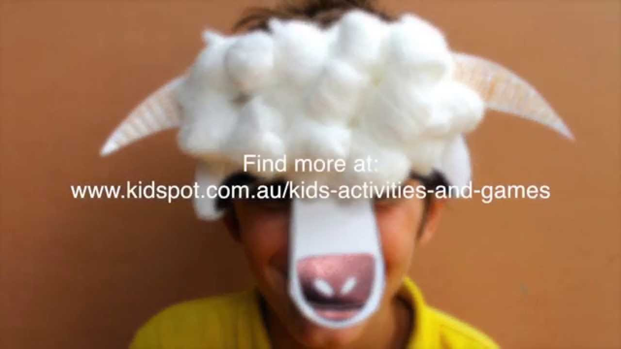 How To Make A Sheep Mask For Chinese New Year YouTube