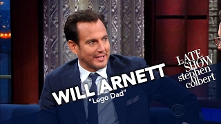 Lego Batman Gets Interviewed By Lego Stephen Colbert