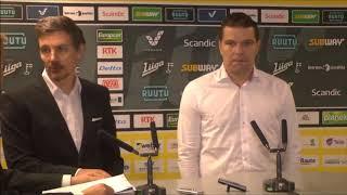 SaiPa-Sport -lehdistötilaisuus 11.10.2017