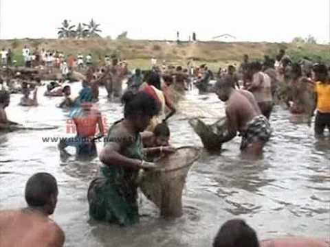 funny Fishing Competition In Tamil Nadu-kauthukalokam 14,august 2012 Part 3 video
