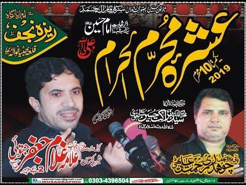 Live Ashra Muharram 2019 Iambargha Reza e Najaf Qila Bhattian Wala Muridke(9 Muharram )