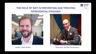EFP Perio Sessions 9 -  Johan Wölber on the role of diet in preventing and treating gum diseases