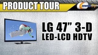 Newegg TV_ LG 47 3-D Ready LED-LCD HDTV Product Tour