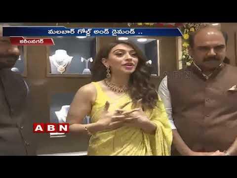 Actress Hansika Inaugurates Malabar Gold & Diamonds showroom in Karimnagar