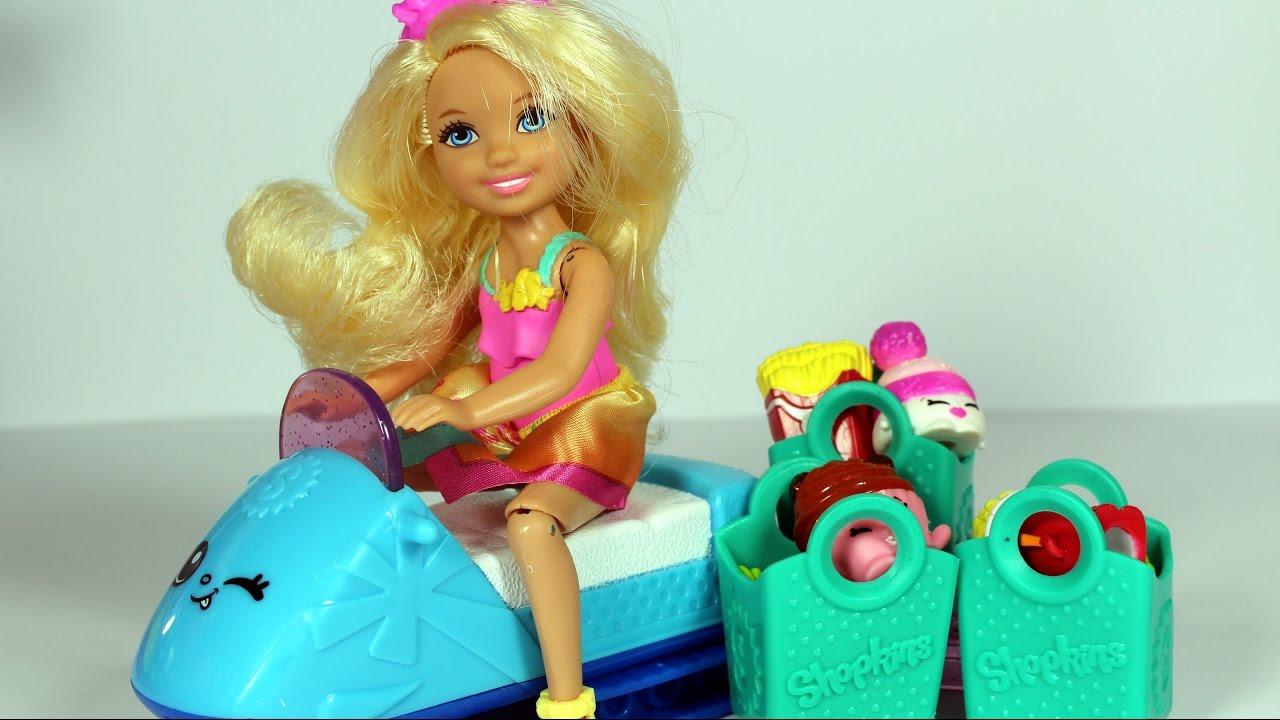Barbie i Emma na zakupach w sklepie Shopkins - bajka po polsku