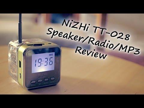 NiZHi Speaker/Radio/MP3 Player Review