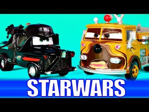 CARS STARWARS 2014 Darth Vader Mater Chick Hicks Boba Fett Chewbacca Disney Pixar Car Toys