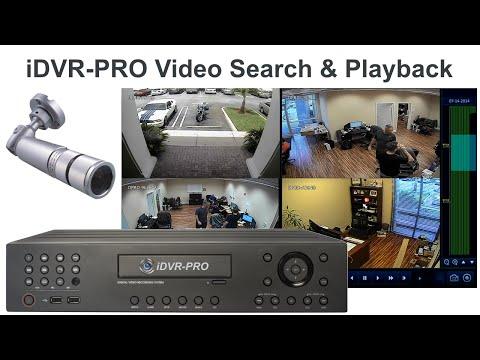 CCTV Security DVR Recorded Surveillance Video Search & Playback