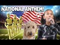 Jillian sings the national anthem morning routine crash test dummy chloe haircut
