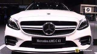 2019 Mercedes AMG C43 4matic - Exterior and Interior Walkaround - Debut at 2018 Geneva Motor Show