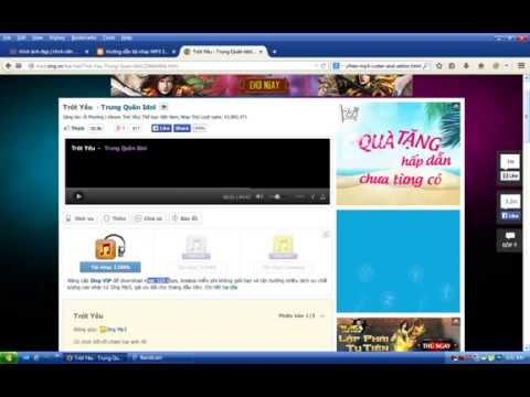 Cách Tải Nhạc 320kbps Miễn Phí Trên Mp3 Zing Vn video