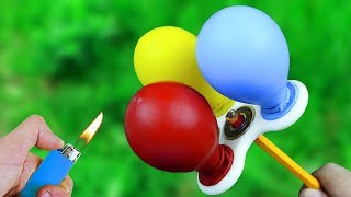5 AWESOME BALLOON TRICKS!