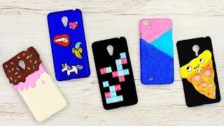 5 идей чехлов для телефона своими руками