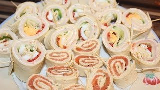 Wraplollies - Fingerfood, Buffet, Geburtstag