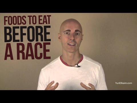 Foods to Eat Before a Race