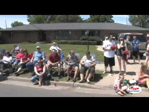 2014 Superior WI 4th of July Parade - View from a float part 2 of 3