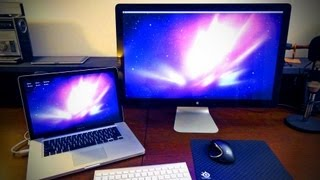 Apple Thunderbolt Display Unboxing