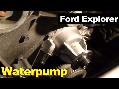 1995 Ford Explorer Waterpump Repair