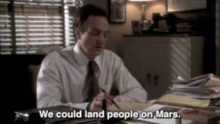 The West Wing - Josh Lyman and men on Mars