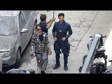 Increíbles imágenes del rodaje de Avengers: Infinity War