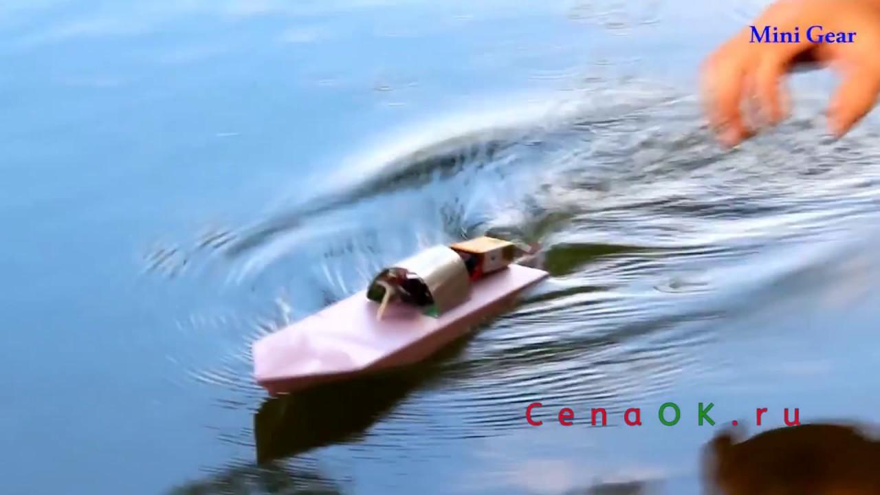 Лодка из пенопласта с моторчиком своими руками 74
