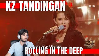 "KZ Tandingan Rolling in the Deep Reaction | ""Singer 2018"" Episode 5 Singer Official Channel"