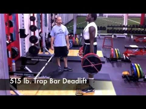 WWW.OT-SPORTS.COM Pete Brown 515Lb. Trap Bar Deadlift.m4v