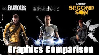inFAMOUS Second Son - Graphics Comparison - Complete Saga - Ps3 Vs Ps4 HD 2014