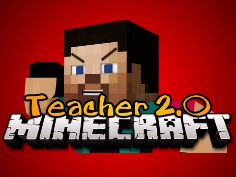 Minecraft: NEW TEACHER 2.0 MINIGAME! - DON'T LEAVE ME! - Game 4