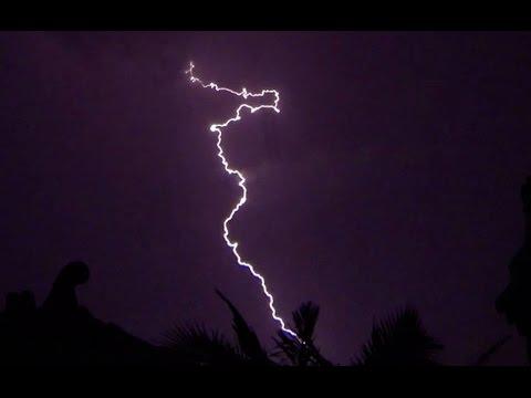 Lightning - Gopro Hero 3 Black - Sydney Mega Lightning Storm. 4 December 2014 video