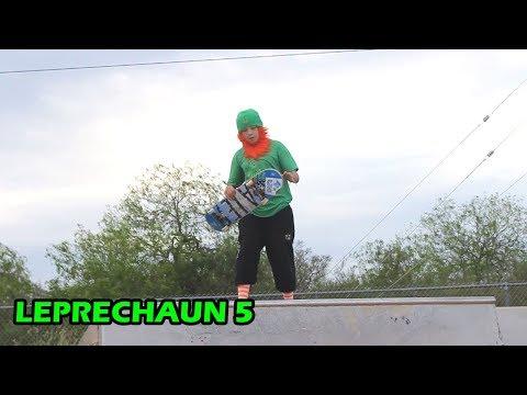 Leprechaun Skateboarding 5