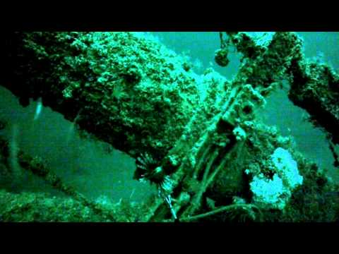 Alabama and Mississippi Rig Diving for Lionfish. Flora-Bama Fishing Rodeo Gulf of Mexico. 6/14/2014