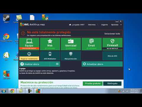 Descargar AVG antivirus FREE 2013