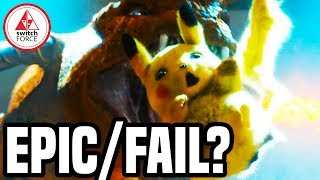 Pokemon Detective Pikachu Official Trailer Reaction + Review! EPIC or FAIL? NEW Pokemon Movie 2019