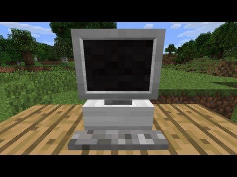 MrCrayfishs Furniture Mod Update 9 Computer