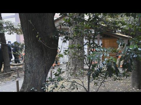 靖国神社2015年新嘗祭トイレ爆破テロ事件の犯人は韓国人だった、対日テロ急増の韓国のキャプチャー